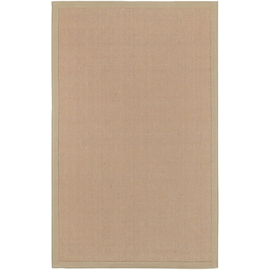 Surya Soho Beige Hand Woven Rug, 5' x 8' Rectangle