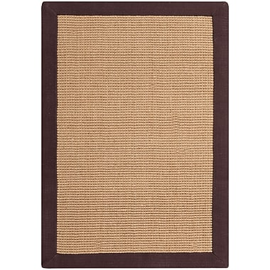 Surya Soho BROWN Hand Woven Rug, 2' x 3' Rectangle