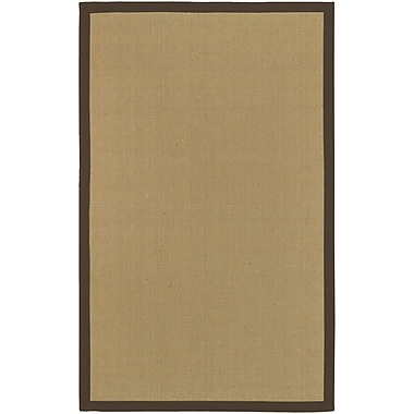 Surya Soho BROWN Hand Woven Rug, 5' x 8' Rectangle