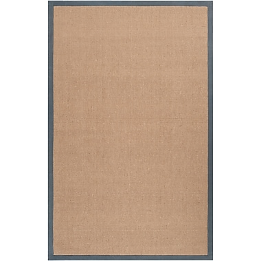 Surya Soho GRAY Hand Woven Rug, 8' x 10' Rectangle