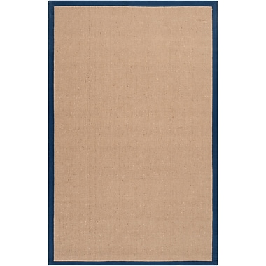 Surya Soho NAVY Hand Woven Rug, 9' x 13' Rectangle