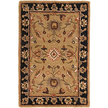 Surya Crowne CRN6007-46 Hand Tufted Rug, 4' x 6' Rectangle