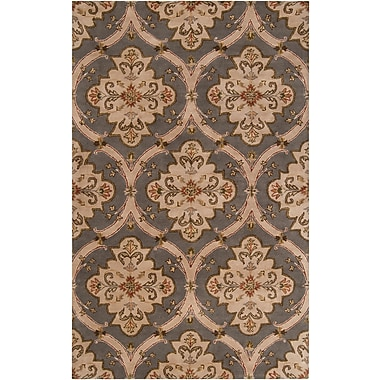 Surya Crowne CRN6026-69 Hand Tufted Rug, 6' x 9' Rectangle