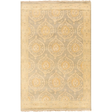 Surya Jade JDE3001-69 Hand Knotted Rug, 6' x 9' Rectangle