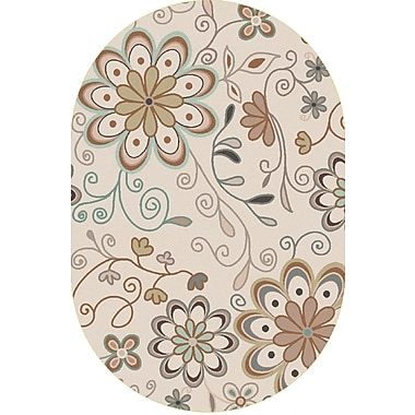 Surya Athena ATH5123-69OV Hand Tufted Rug, 6' x 9' Oval