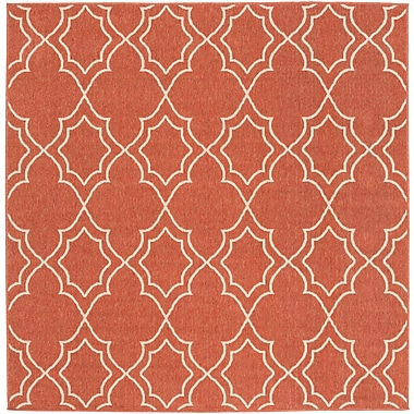 Surya Alfresco ALF9591-73SQ Machine Made Rug, 7'3