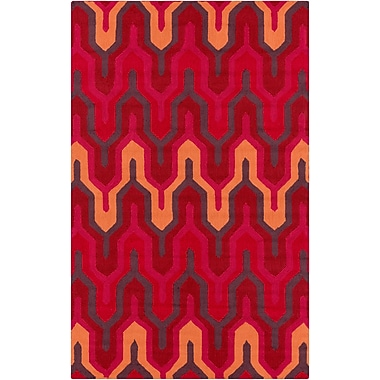 Surya Brentwood BNT7701-58 Hand Hooked Rug, 5' x 8' Rectangle