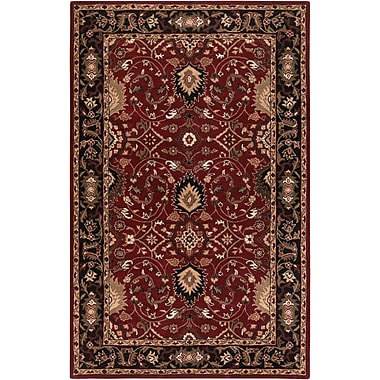 Surya Caesar CAE1031-46 Hand Tufted Rug, 4' x 6' Rectangle