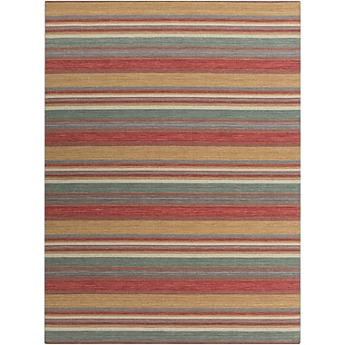 Surya Calvin CLV1004-811 Hand Woven Rug, 8' x 11' Rectangle