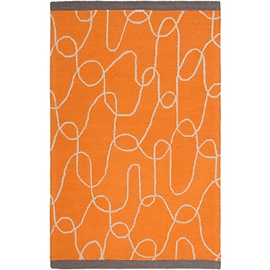 Surya Lotta Jansdotter Decorativa DCR4022-58 Hand Tufted Rug, 5' x 8' Rectangle