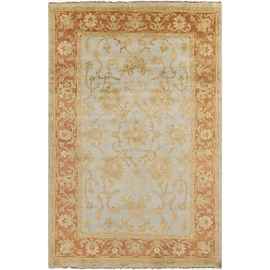 Surya Hillcrest HIL9014-23 Hand Knotted Rug, 2' x 3' Rectangle