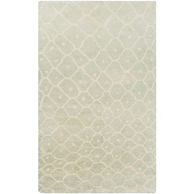 Surya Utopia UTP9001-58 Hand Knotted Rug, 5' x 8' Rectangle