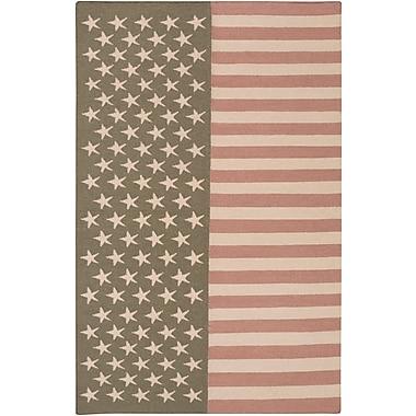 Surya Washington WAS5002-23 Hand Woven Rug, 2' x 3' Rectangle