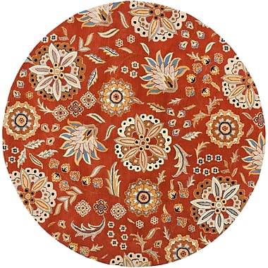Surya Athena ATH5126-4RD Hand Tufted Rug, 4' Round