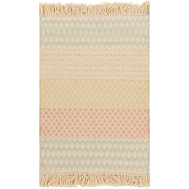 Surya Papilio Amber ABR6000-46 Hand Loomed Rug, 4' x 6' Rectangle