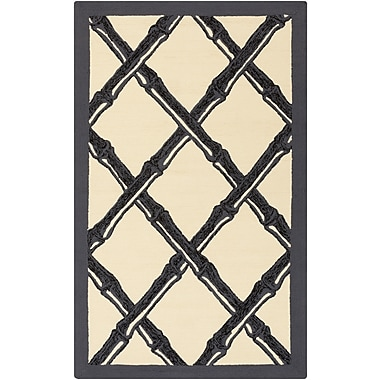 Surya Florence Broadhurst Bondi Beach BBC2012-912 Hand Hooked Rug, 9' x 12' Rectangle
