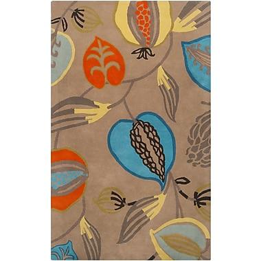 Surya Harlequin HQL8001-58 Hand Tufted Rug, 5' x 8' Rectangle