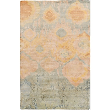 Surya Watercolor WAT5007-58 Hand Knotted Rug, 5' x 8' Rectangle