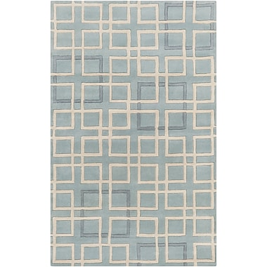 Surya Artist Studio ART238-58 Hand Tufted Rug, 5' x 8' Rectangle
