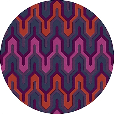 Surya Brentwood BNT7703-4RD Hand Hooked Rug, 4' Round