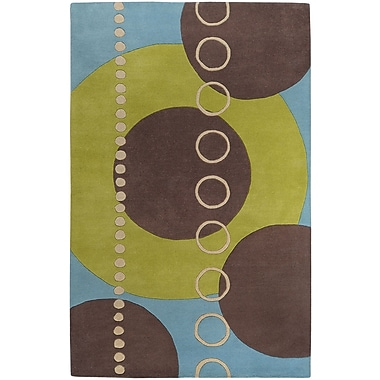 Surya Forum FM7013-69 Hand Tufted Rug, 6' x 9' Rectangle