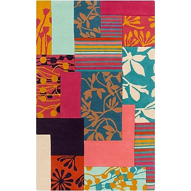 Surya Harlequin HQL8030-58 Hand Tufted Rug, 5' x 8' Rectangle