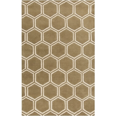 Surya Stamped STM801-58 Hand Tufted Rug, 5' x 8' Rectangle