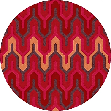 Surya Brentwood BNT7701-3RD Hand Hooked Rug, 3' Round