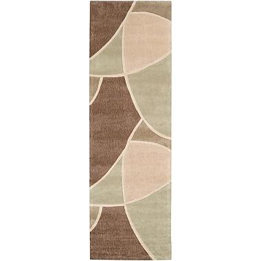 Surya Cosmopolitan COS8893-268 Hand Tufted Rug, 2'6