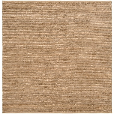 Surya Continental COT1931-8SQ Hand Woven Rug, 8' Square