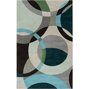 Surya Forum FM7157-312 Hand Tufted Rug, 3' x 12' Rectangle