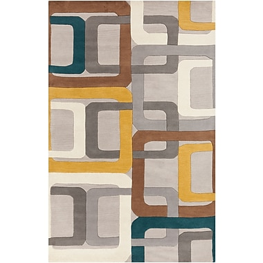 Surya Forum FM7159-912 Hand Tufted Rug, 9' x 12' Rectangle