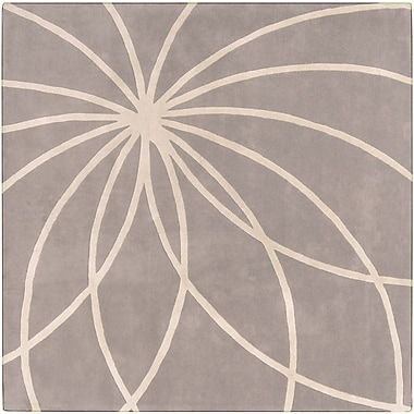 Surya Forum FM7184-4SQ Hand Tufted Rug, 4' Square