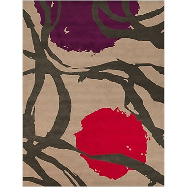 Surya Harlequin HQL8002-912 Hand Tufted Rug, 9' x 12' Rectangle