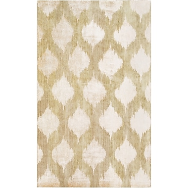 Surya Mugal IN8603-58 Hand Knotted Rug, 5' x 8' Rectangle