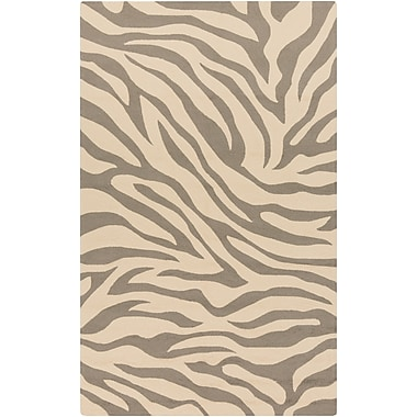 Surya Rain RAI1172-23 Hand Hooked Rug, 2' x 3' Rectangle