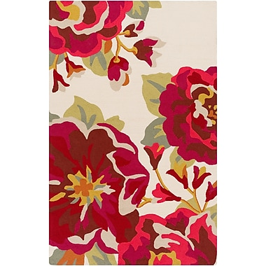 Surya Rain RAI1230-912 Hand Hooked Rug, 9' x 12' Rectangle