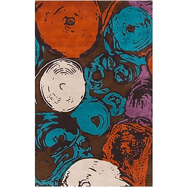Surya Mike Farrell Roll Call RCL700-58 Hand Tufted Rug, 5' x 8' Rectangle