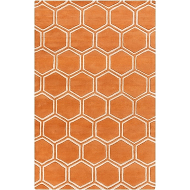 Surya Stamped STM818-58 Hand Tufted Rug, 5' x 8' Rectangle