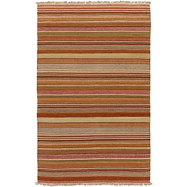 Surya Papilio Tibet TIB4001-46 Hand Woven Rug, 4' x 6' Rectangle