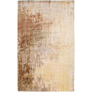 Surya Watercolor WAT5001-23 Hand Knotted Rug, 2' x 3' Rectangle