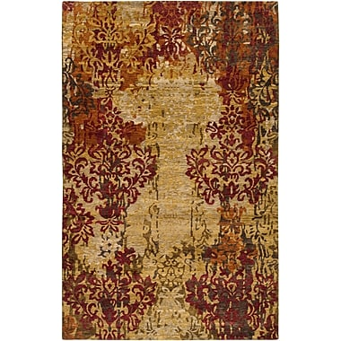 Surya Brocade BRC1002-58 Hand Knotted Rug, 5' x 8' Rectangle