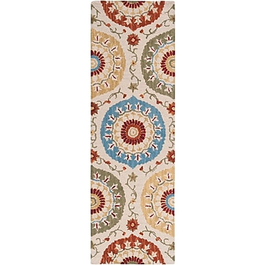 Surya Centennial CNT1051-268 Hand Hooked Rug, 2'6