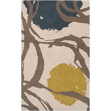 Surya Harlequin HQL8003-58 Hand Tufted Rug, 5' x 8' Rectangle