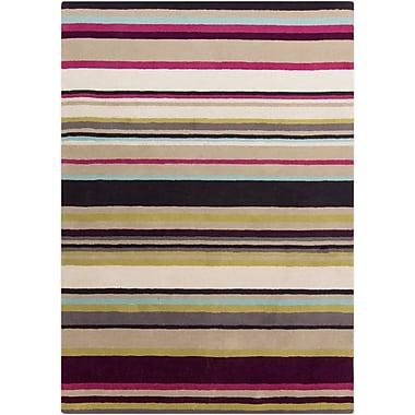Surya Harlequin HQL8025-810 Hand Tufted Rug, 8' x 10' Rectangle