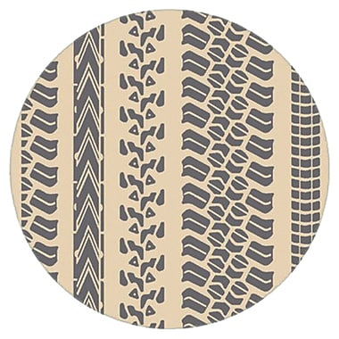 Surya Mike Farrell Pandemonium PDM1008-8RD Hand Hooked Rug, 8' Round
