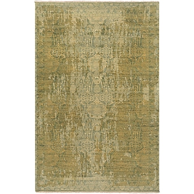 Surya Palace PLC1000-69 Hand Knotted Rug, 6' x 9' Rectangle