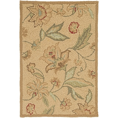Surya Rain RAI1011-35 Hand Hooked Rug, 3' x 5' Rectangle