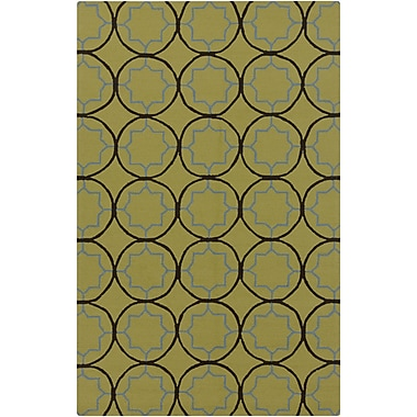 Surya Rain RAI1145-810 Hand Hooked Rug, 8' x 10' Rectangle
