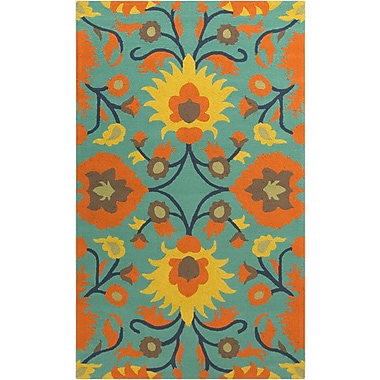 Surya Rain RAI1147-810 Hand Hooked Rug, 8' x 10' Rectangle